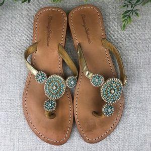 Tommy Bahama Jeweled Sandals sz 7